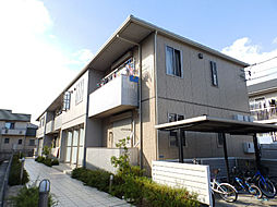 三重県鈴鹿市下箕田4丁目の賃貸アパートの外観