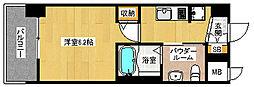 「エステムプラザ京都聚楽第 雅邸」[7階]の間取り