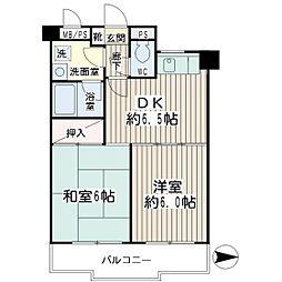 グレースピア・ヤワタ[4階]の間取り