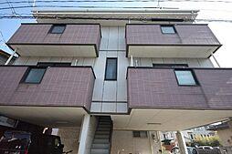 香川県高松市上福岡町の賃貸アパートの外観