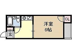 メゾンルミナス[2階]の間取り
