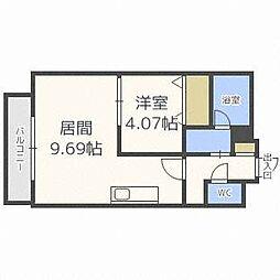 PRIME URBAN円山[9階]の間取り