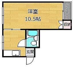 磯島スターハイツ[3階]の間取り