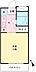 間取り,ワンルーム,面積17.73m2,賃料3.7万円,京王線 百草園駅 徒歩4分,京王線 聖蹟桜ヶ丘駅 徒歩20分,東京都日野市落川652-3