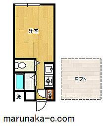 レモンホームIII[203号室]の間取り