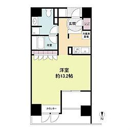 プライムアーバン堺筋本町[2階]の間取り