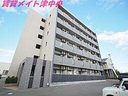 三重県津市桜橋3丁目の賃貸マンションの外観