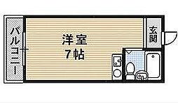大阪府高槻市寿町1丁目の賃貸マンションの間取り