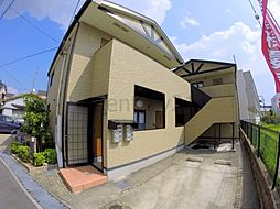 兵庫県川西市東久代2丁目の賃貸アパートの外観