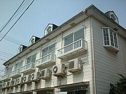 東京都練馬区高松の賃貸アパートの外観