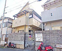 京都府京都市北区西賀茂蟹ケ坂町の賃貸アパートの外観