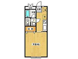 長澤マンション[302号号室]の間取り