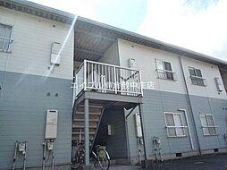 岡山県倉敷市東塚4丁目の賃貸アパートの外観