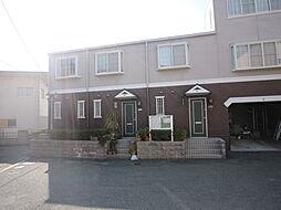 愛知県日進市梅森町北田面の賃貸アパートの外観