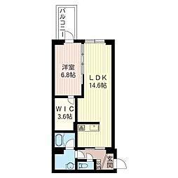 エターナル・オリオン[2階]の間取り