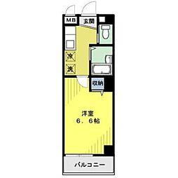 第43シンエイビル[3階]の間取り
