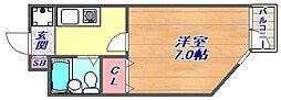 フラッツ・エクシード[302号室]の間取り