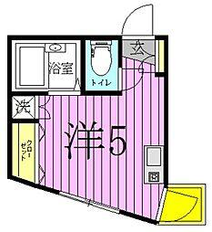 FERIO北綾瀬[3階]の間取り