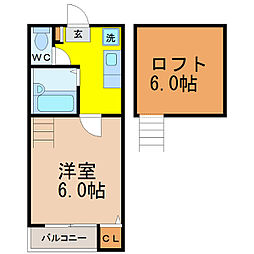 エランド大須[2階]の間取り