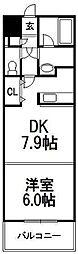 エリオ東札幌[103号室]の間取り