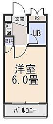 クリサンティヒル山田川[2階]の間取り