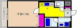 JR東海道・山陽本線 住吉駅 徒歩6分の賃貸アパート 3階1Kの間取り