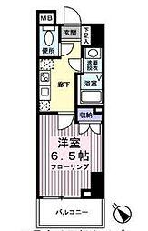 ザ・パーククロス藤沢[13階]の間取り