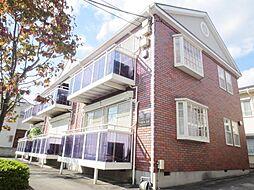 埼玉県さいたま市南区鹿手袋4丁目の賃貸アパートの外観