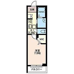 仮)松波シャーメゾン[1階]の間取り