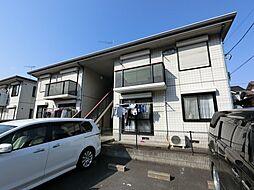 千葉県印西市木下東2丁目の賃貸アパートの外観