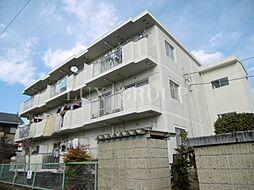 東京都福生市北田園1丁目の賃貸マンションの外観