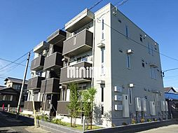 愛知県豊橋市牛川町字田ノ上の賃貸アパートの外観