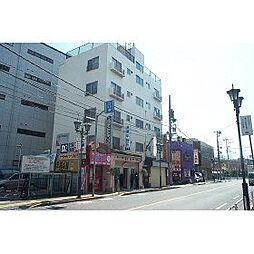 東京都日野市多摩平1丁目の賃貸アパートの外観