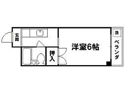 やまいくマンション[2階]の間取り