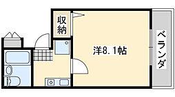 Rinon脇浜 リノン脇浜[405号室]の間取り