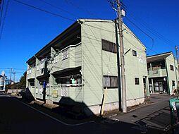 栃木県宇都宮市八千代2丁目の賃貸アパートの外観