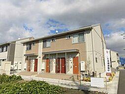佐賀県佐賀市巨勢町牛島の賃貸アパートの外観