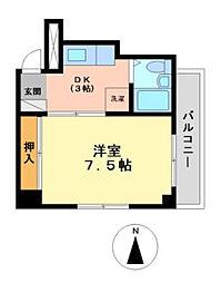 ル・セレッソ[3階]の間取り
