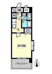 KWレジデンス東石井[803号室]の間取り