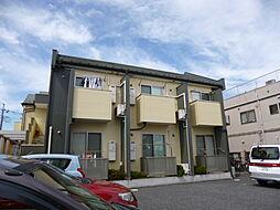 埼玉県春日部市備後東8丁目の賃貸アパートの外観