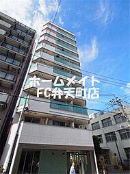 大阪府大阪市港区波除3丁目の賃貸マンションの外観