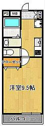 SAKASU HIROO[207号室]の間取り