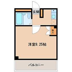 埼玉県坂戸市緑町の賃貸マンションの間取り