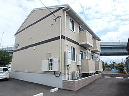 福島県郡山市静町の賃貸アパートの外観