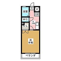 仙台白萩マンション[3階]の間取り