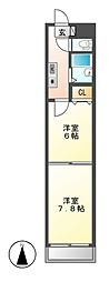 BloisCerezo(ブロアセレッソ)[2階]の間取り