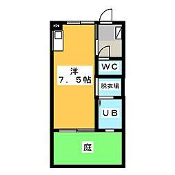 フレグランス七宝2番館(1階)[1階]の間取り
