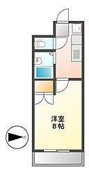 アケボノイーストII[2階]の間取り