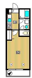 メゾンティーグル[1階]の間取り