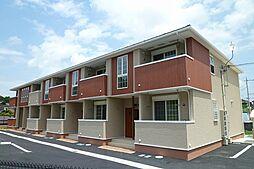 滋賀県栗東市下戸山の賃貸アパートの外観